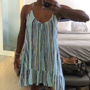 Striped Short Sundress